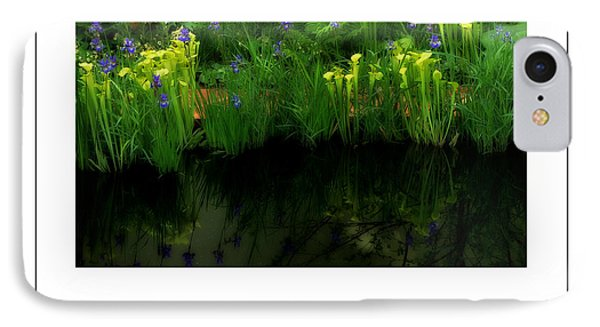 Pitcher Plant Garden Poster IPhone Case by Mike Nellums