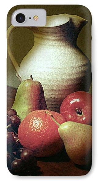 Pitcher With Fruit IPhone Case