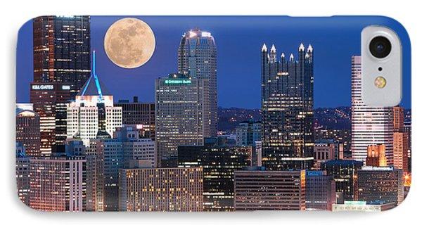 Pittsburgh 6 Phone Case by Emmanuel Panagiotakis