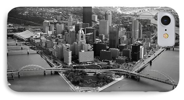 Pittsburgh 8 IPhone Case by Emmanuel Panagiotakis