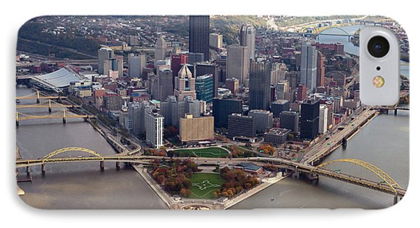 Pittsburgh 8 In Color  IPhone Case by Emmanuel Panagiotakis
