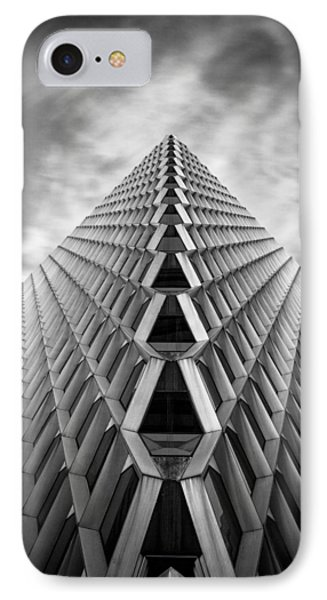 Pittsburgh Architecture  3bw IPhone Case by Emmanuel Panagiotakis