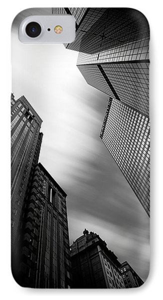 Pittsburgh Architecture 65bw IPhone Case by Emmanuel Panagiotakis