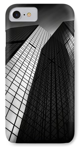 Pittsburgh Architecture75bw IPhone Case by Emmanuel Panagiotakis