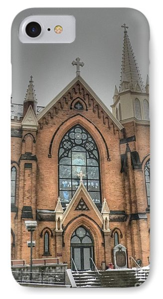 Pittsburgh Cathedral Phone Case by David Bearden