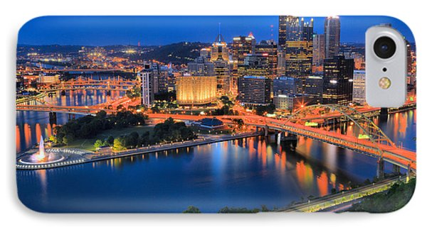 Pittsburgh Evening Glow IPhone Case