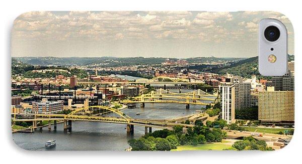 Pittsburgh Hdr Phone Case by Arthur Herold Jr