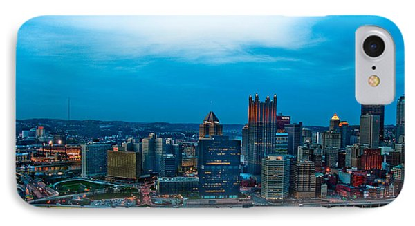 Pittsburgh In Hdr Phone Case by Kayla Kyle