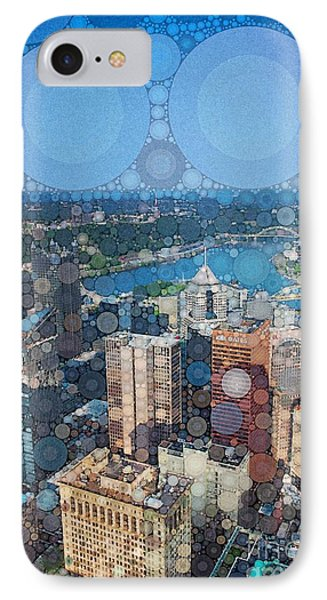 Pittsburgh In Pixels IPhone Case by Amy Cicconi