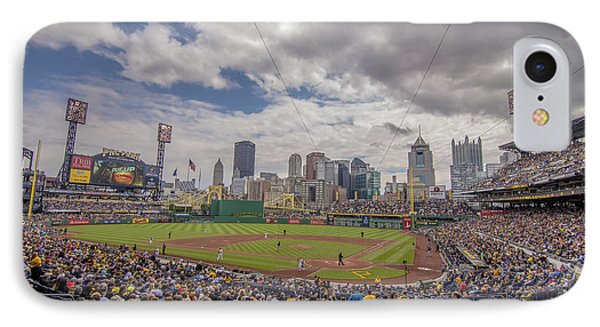Pittsburgh Pirates 1 Pnc Park IPhone Case by David Haskett