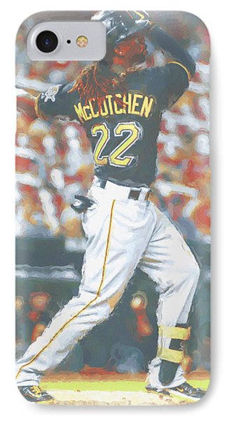 Pittsburgh Pirates Andrew Mccutchen 5 IPhone Case