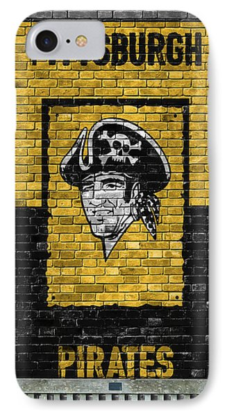 Pittsburgh Pirates Brick Wall IPhone Case