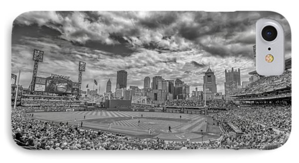 Pittsburgh Pirates Pnc Park Black And White 2 IPhone Case