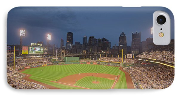 Pittsburgh Pirates Pnc Park X2 IPhone Case by David Haskett