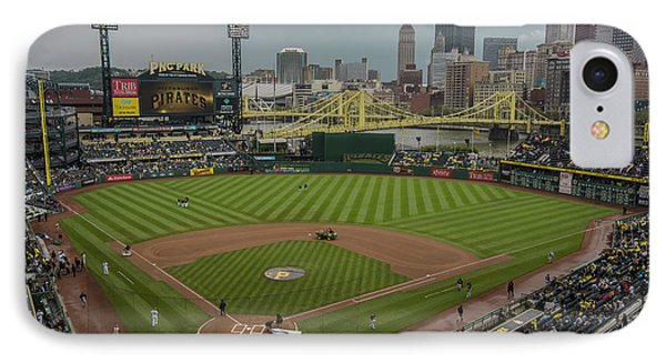 Pittsburgh Pirates Pnc Park X5 IPhone Case by David Haskett