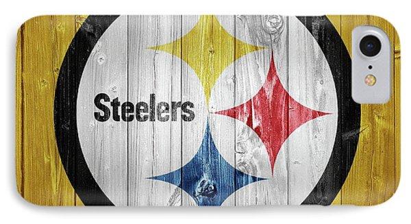 Pittsburgh Steelers Barn Door IPhone Case by Dan Sproul