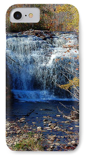 IPhone Case featuring the photograph Pixley Falls State Park by Diane E Berry