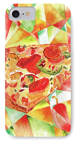 Pizza Pizza Phone Case by Paula Ayers