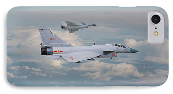 IPhone Case featuring the photograph Plaaf J10 - Vigorous Dragon by Pat Speirs