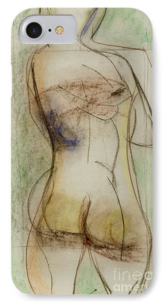 IPhone Case featuring the drawing Placid by Paul McKey