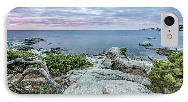 Plain Rocks Cove, Sant Antoni De Calonge IPhone Case by Marc Garrido