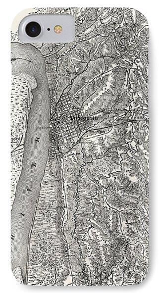 Plan Of The Siege Of Vicksburg IPhone Case by American School