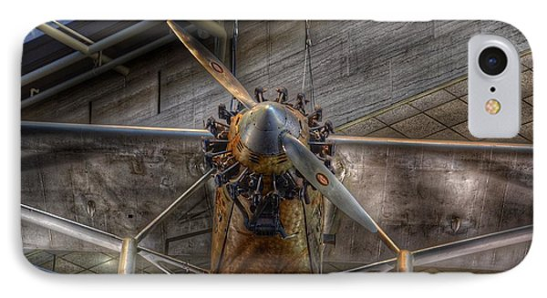Spirit Of St Louis Propeller Airplane IPhone Case by Marianna Mills