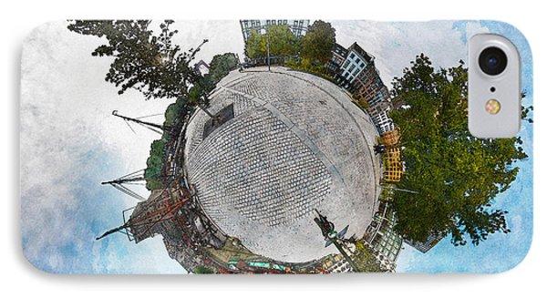 Planet Gelderseplein Rotterdam IPhone Case by Frans Blok