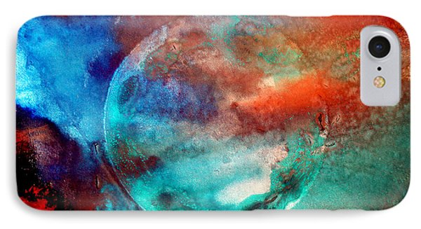 Planet In Galaxy Andromeda IPhone Case by Sumit Mehndiratta