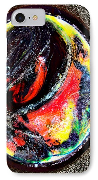 Planet In Orbit IPhone Case by Angelina Vick