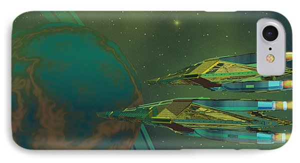 Planet Of Origin Phone Case by Corey Ford