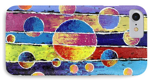 Planet System IPhone Case by Jeremy Aiyadurai