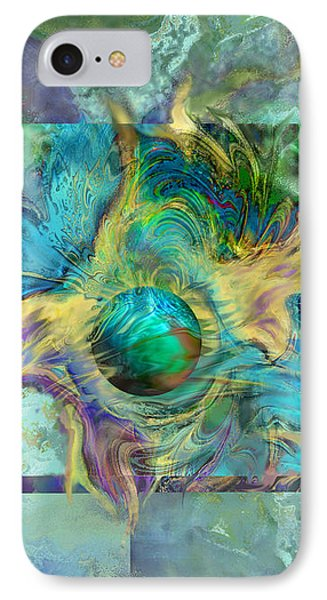 Planetary Collision 2 IPhone Case