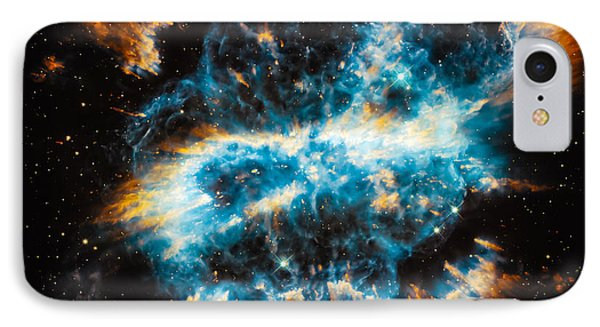 Planetary Nebula Ngc 5189 IPhone Case by Marco Oliveira