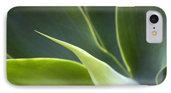 Plant Abstract IPhone Case by Tony Cordoza