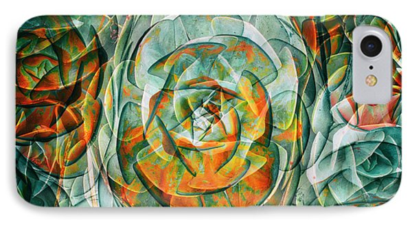 IPhone Case featuring the photograph Plant Abstract by Wayne Sherriff