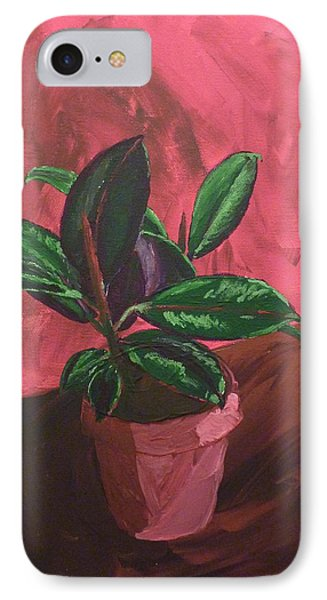 Plant In Ceramic Pot IPhone Case by Joshua Redman