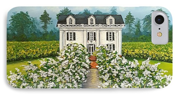 Plantation Home Phone Case by Sandra Lett