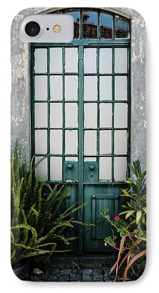 IPhone Case featuring the photograph Plants In The Doorway by Marco Oliveira