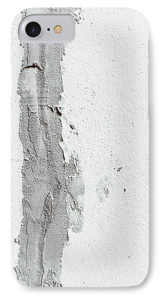 Plaster On A Wall IPhone Case by Tom Gowanlock