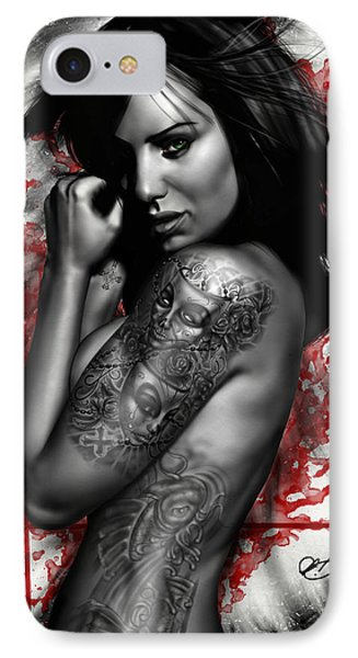 Plata O Plomo IPhone Case by Pete Tapang