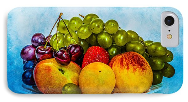 IPhone Case featuring the photograph Plate Of Fresh Fruits by Alexander Senin