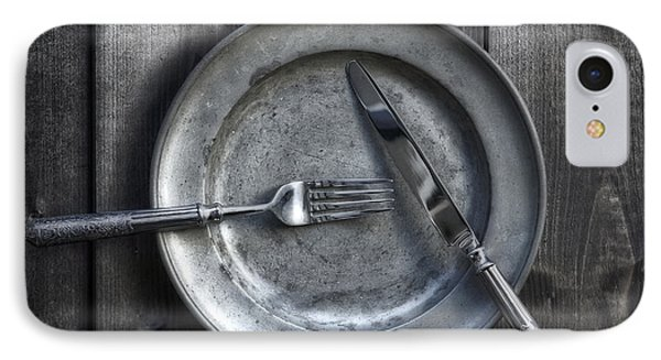 Plate With Silverware Phone Case by Joana Kruse