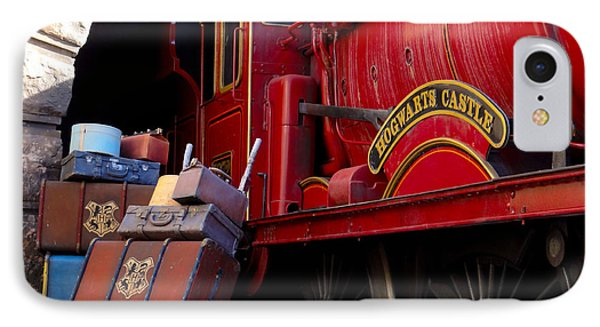 IPhone Case featuring the photograph Platform Nine And Three Quarters by Julia Wilcox