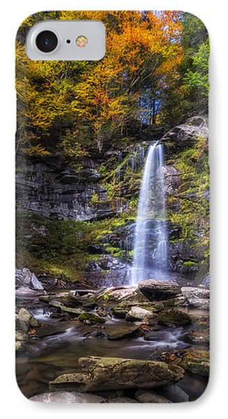 IPhone Case featuring the photograph Plattekill Falls by Mark Papke