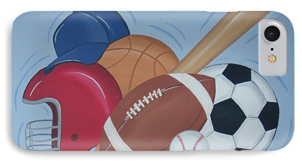 Play Ball Phone Case by Valerie Carpenter