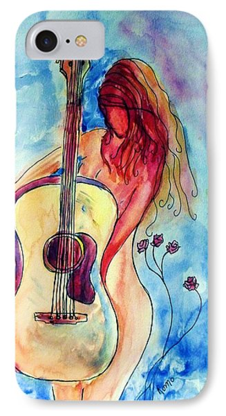 Play Me A Song Phone Case by Robin Monroe
