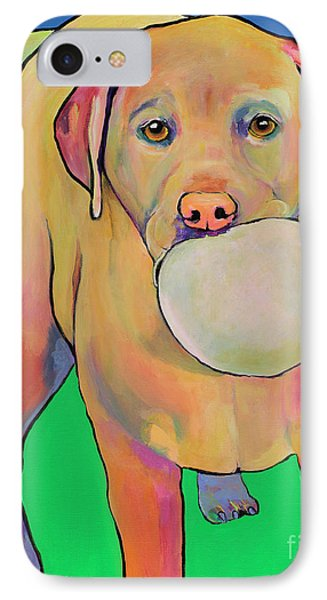 Play With Me Phone Case by Pat Saunders-White