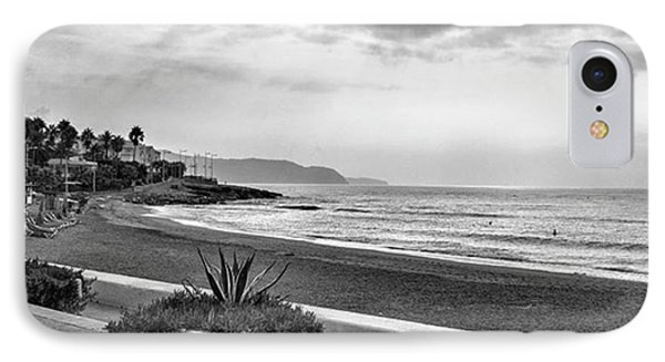 Playa Burriana, Nerja Phone Case by John Edwards