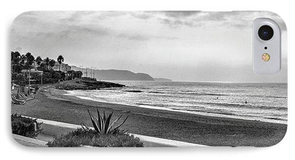 Playa Burriana, Nerja Phone Case by John Edwards